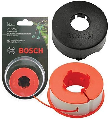 Bosch Originali Art 23 26 30 COMBITRIM EASYTRIM Strimmer/Regolatore dell'erba Rubinetto Pro-per Linea Automatica Spoo...