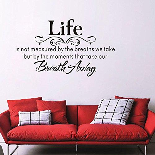 ahjs456 Life Wall Aufkleber Ebay Express Englische Poesie Wohnzimmer Schlafzimmer Hintergrund Wand cm X 70cm