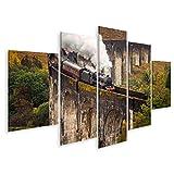 Bild Bilder auf Leinwand Das Glenfinnan Viaduct ist EIN