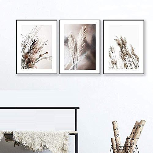 Cuadro moderno impreso de 3 paneles de pintura de árbol, cuadro de atardecer, lienzo de la decoración de la pared del hogar, para sala de estar, 40,6 x 60,9 x 3 paneles