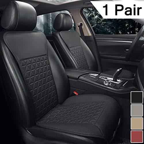 Black Panther 1 Pair Luxury PU Car Seat...