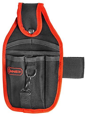 Connex Werkzeugtasche - 6 Fächer - Inkl. Hammerhalter & Universalhalter - Mit Gürtelschlaufe - Aus...