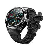 QNMM S201 Smart Watch TWS-Headset 2 In 1 Mit Körpertemperatur, Herzfrequenz, Blutdruck, Blutsauerstofftest Sport-Armbanduhr, Geeignet Für Android/IOS