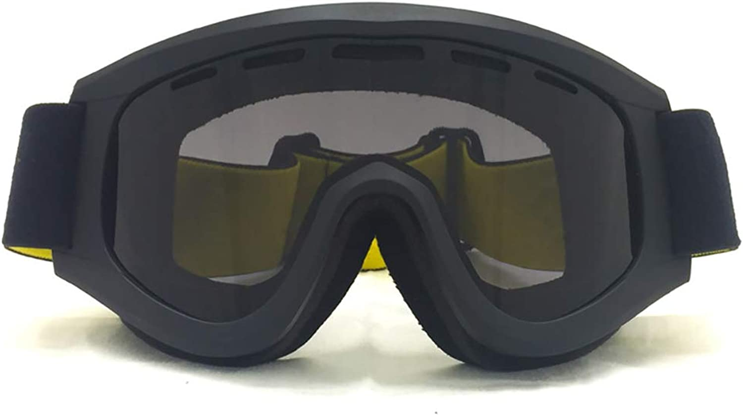 Goggles, DoubleLayer AntiFog and SandProof SnowProof Blind ski Goggles  Outdoor Sports Riding Mountain Bike SUV Glasses,6