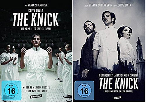 The Knick - Season/Staffel 1+2 * DVD Set