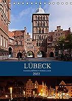 Luebeck - Hanseschoenheit in Insellage (Tischkalender 2022 DIN A5 hoch): Luebeck - Zauberhafte Backsteingotik auf der Altstadtinsel (Monatskalender, 14 Seiten )