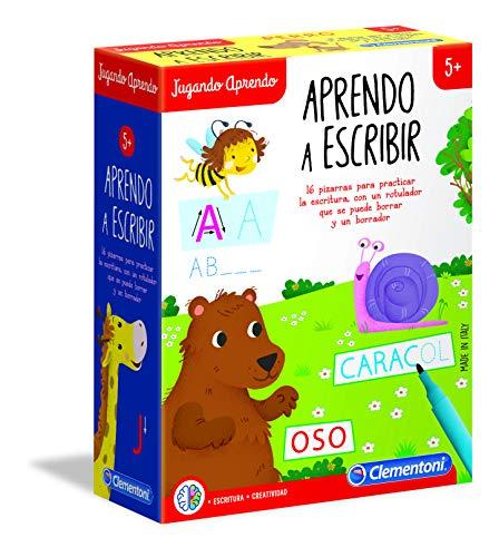 Clementoni-55308 - Aprendo a Escribir - juego educativo a partir de 5 años
