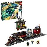 LEGO - Hidden Side Expreso Fantasma Juguete de construcción con realidad aumentada, incluye tren y m...