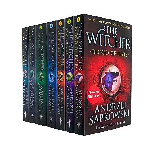 Witcher Series Andrzej Sapkowski 7 Books...