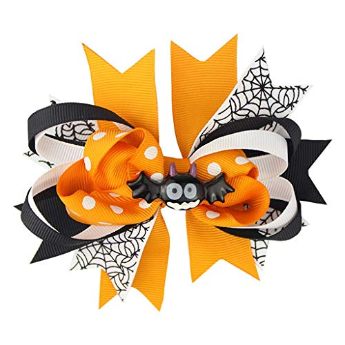 "LQH 3"" de Halloween Pequeño Glitter Arcos del Pelo for Las Pinzas de Pelo de la Historieta Divertida del Barrette"