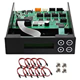 1-2-3-4-5-6-7 Blu-ray CD/ DVD/ BD SATA Duplicator Copier CONTROLLER + Cables, Screws