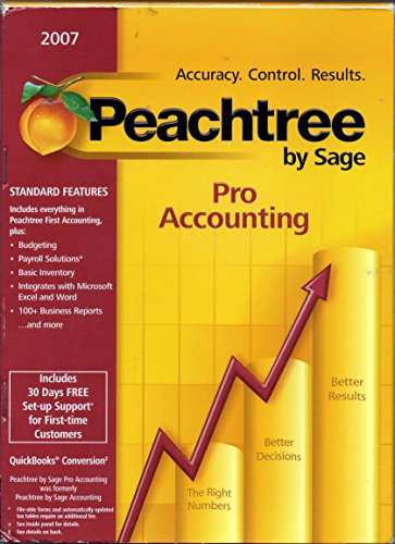 Peachtree by Sage Pro Accounting 2007
