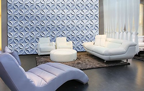 3D WALL CEILING PANELS POLYSTYRENE TILES (Pack of 24) 6 Sqm - LOTOS 3D
