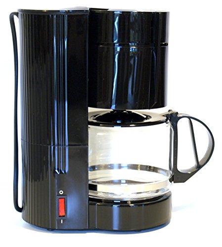 Warenhandel König LKW Kaffeemaschine mit Glaskanne für 10-12 Tassen, 24 Volt 300 Watt Filterkaffeemaschine