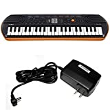 Casio SA-76 44 Key Mini Keyboard with Keyboard Power Supply
