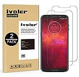 iVoler [Pack de 2] Verre Trempé pour Motorola Moto Z3 Play/Motorola Moto Z3, Film Protection en Verre trempé écran Protecteur...