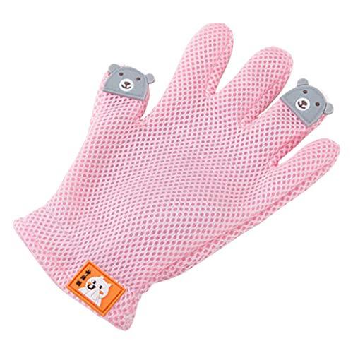 Gants De Chat Au Peigne pour Cheveux HUYP (Color : Pink)