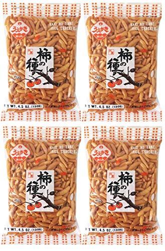 Uegaki Kaki No Tane (Rice Cracker) 4.5oz (4 Pack)