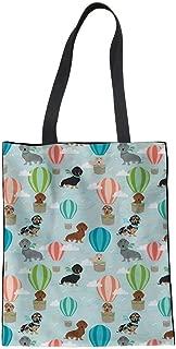 Women Linen Tote Bag Casual Shoudler Bag Fashion Shopping Bags