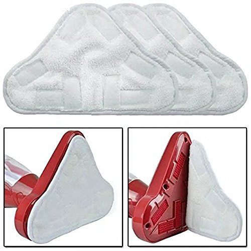 Beehive Filter New 2pcs Replacement Pads for H2O H20 X5 Steam Mop Cleaner Floor Washable Microfibre Pads