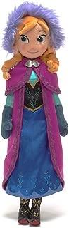 Disney Store Anna Plush Doll - Frozen - Medium - 20''