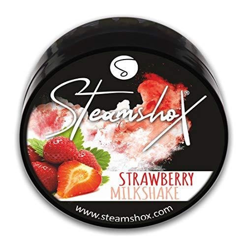 SteamshoX® Strawberry Milkshake Dampfsteine 70 g - Shisha Steam Stones - nikotinfreier Tabakersatz für Wasserpfeifen
