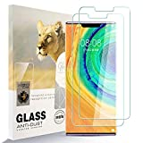 Asoway Protector de Pantalla Asoway para Huawei Mate 30 Pro 5G [2 Unidades] HD de Vidrio Templado antihuellas Dactilares Libre, Protector de Cristal de dureza 9H para Huawei Mate 30 Pro 5G