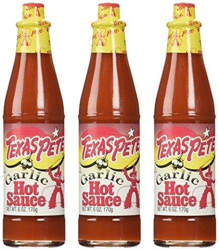 Texas Pete Garlic Hot Sauce - 6 oz (Pack of 3)