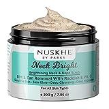 Nuskhe By Paras Neck Bright Whitening & Dead Skin Remover Body Scrub For