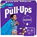 Pull-Ups Learning Designs Boys' Training Pants, 2T-3T, 74 Ct