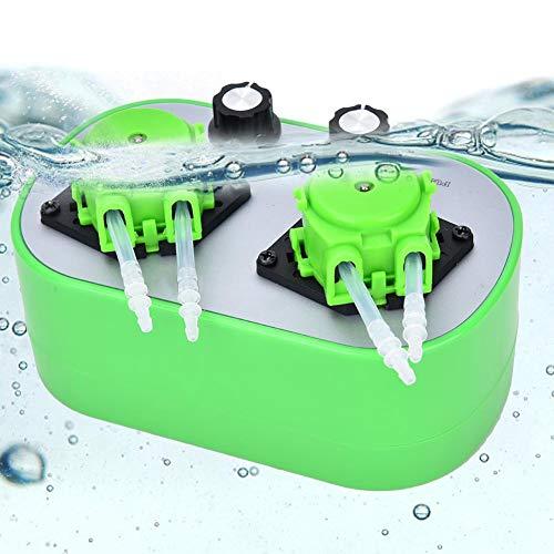【𝐒𝐞𝐦𝐚𝐧𝐚 𝐒𝐚𝐧𝐭𝐚】 Bomba peristáltica de líquido, bomba peristáltica pequeña en miniatura, bomba dosificadora autocebante automática para análisis de laboratorio de acuarios((19 ~ 120 ml/min) *