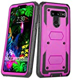 LG G8 Case, LG G8 ThinQ Case, [with Built-in Screen