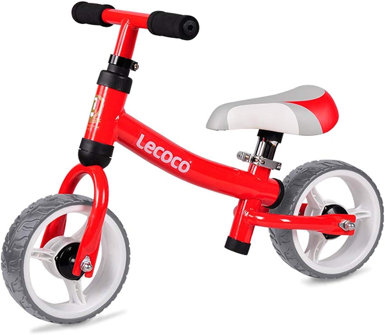 selección larga Zhijie-chezi Equilibrio para Niños Coche deslizable Coche 2-3-6 años años años de Edad Bebé sin Pedal Bicicleta Deslizador Juguete Andador 57  15  24 cm (Color   rojo)  mejor opcion