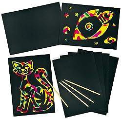 Scratch Notizbuch für bunte Merkblätter