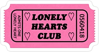 B. Strange Mall Lonely Hearts Club Stickers (3 Pcs/Pack)