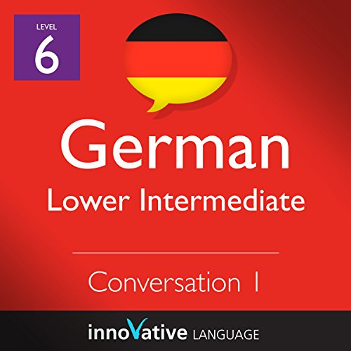 Lower Intermediate Conversation #1, Volume 1 (German) audiobook cover art