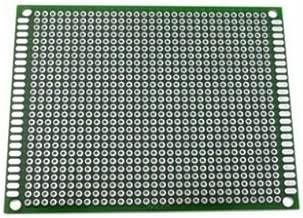 2x Basetta Millefori 2x8 8x2 cm 20x80 80x20 mm Vetronite Doppia faccia arduino