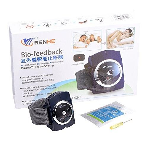 Infrarot Intelligente Schnarchstopper Armband Uhr Anti Schnarchen mit Bio-Feedback-Impuls