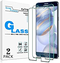 [2-Pack] KATIN For Samsung Galaxy Note 5 Tempered Glass Screen Protector No-Bubble, 9H Hardness, Easy to Install