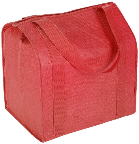 Hannah Insulated Shopping Bag, Red