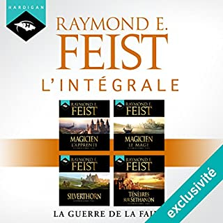Couverture de Raymond E. Feist - L'intégrale de La Guerre de la Faille