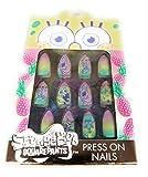 Taste Beauty Sponge Bob SquarePants Faux Nails