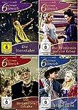 Sechs auf einen Streich 4 DVD-Set (u.a. Die Prinzessin auf der Erbse, Die Sterntaler)