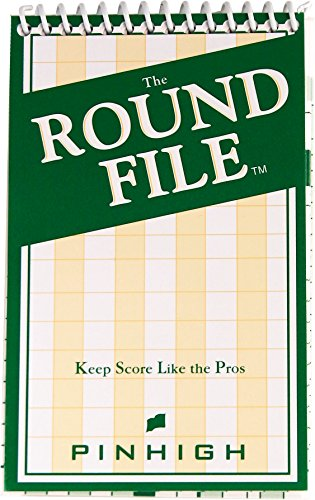 Golf Round Booklet – Track Score and Important Statistics