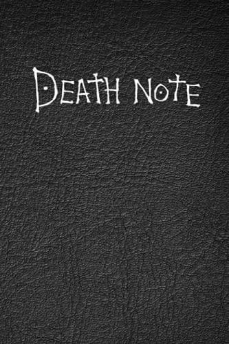 Cuaderno 'Death Note' con páginas de 'cómo usar las reglas': Cuaderno de notas de la muerte, tema de anime de moda, cuaderno de cosplay, cuaderno ... anime, utilizar como diario block agenda etc