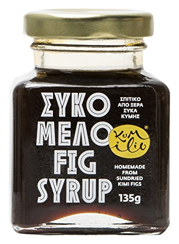 Kumilio Greek Kimi Fig Syrup, 135 g (Pack of 2)