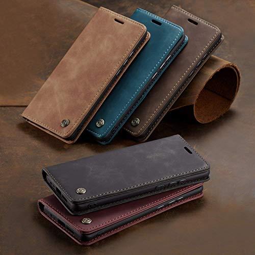 FUNCASE PU Leder + TPU mit Kartenschlitz Brieftasche Flip Hülle für Huawei Mate 30/Mate 30 Pro/P Smart 2019/P30/P30 Pro/P20/P20 Pro/P30 Lite