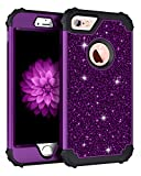 Pandawell Compatible iPhone 6s Case, iPhone 6 Case, Glitter Sparkle Bling Heavy...