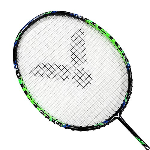 Victor Arrow Power 880 Badminton Racket (Apple Green)(4U5)(Strung @24lb)