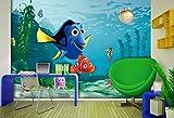 Diseño AG FTDxxl2202 Papel Pintado para Pared-Partes fotomurales Disney Nemo